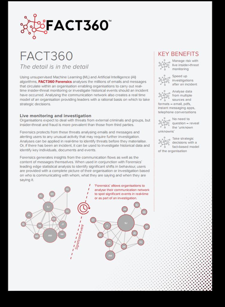 FACT360 for Investigators